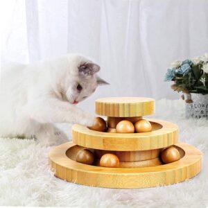 Giocattoli di Legno per Gatti
